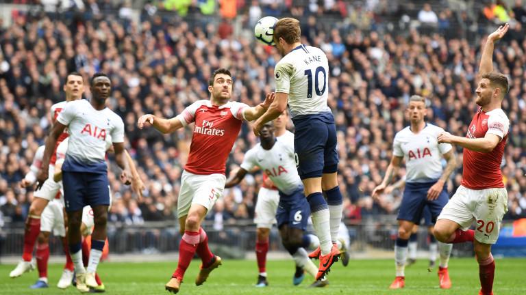 Тотнъм - Арсенал е един от четирите мача днес във Висшата лига на Англия