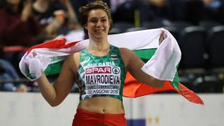 Радослава Мавродиева със златен медал в тласкането на гюле