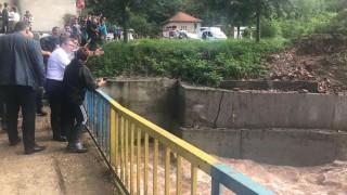 Aрмията монтира понтонен мост в с. Глогово