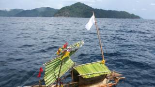 Застрашено племе уби със стрели американец на островите Андаман и Никобар