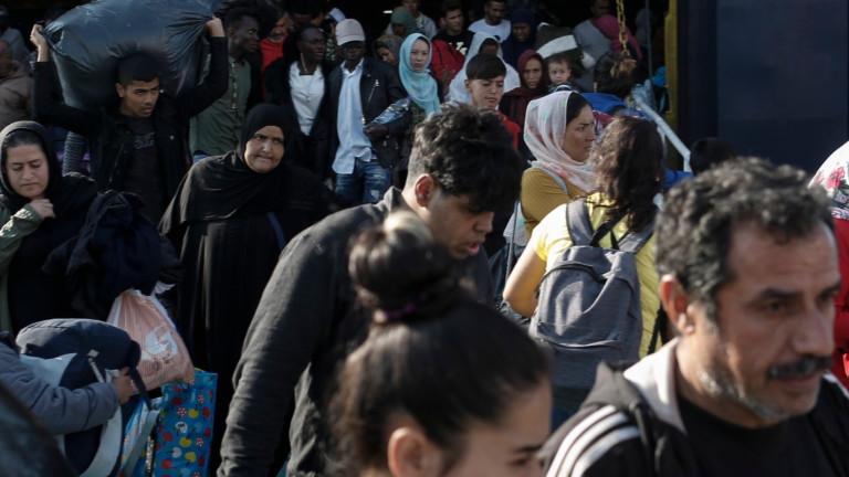 Нараснал е броят на мигрантите, влизащи в Европа от Турция през 2019 г.