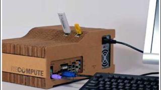Създоха компютър от картон (галерия)