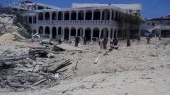 Взривиха кола бомба до президентския дворец в столицата на Сомалия