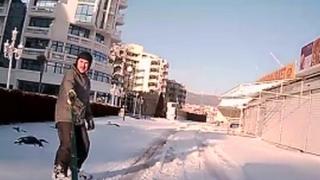 Слънчев бряг стана зимен курорт! (ВИДЕО)