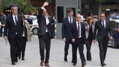 Испанският съд отложи изслушването на каталунските лидери до 9 ноември