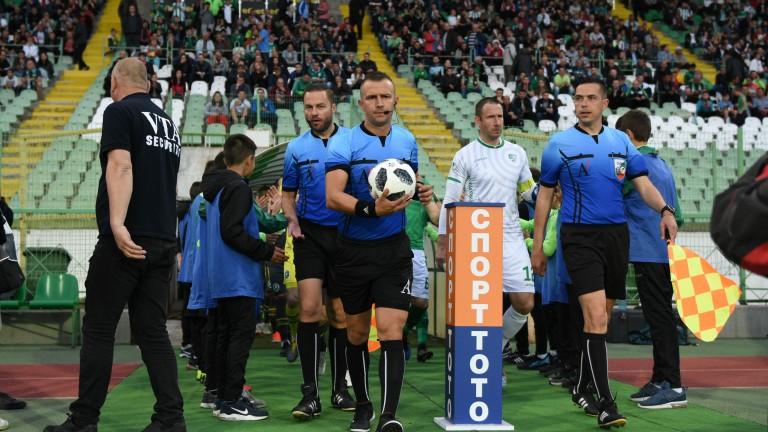 Вдигат съдийските такси в професионалния футбол