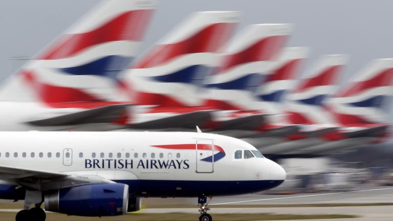 British Airways губи около 40 милиона паунда на ден заради протеста на пилотите