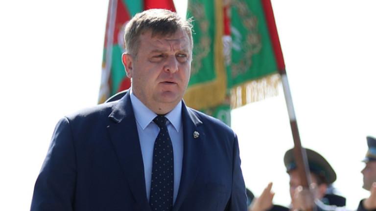 Вицепремиерът и министър на отбраната Красимир Каракачанов коментира от Варна