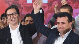 """Заев поздрави """"европейския президент на Северна Македония"""""""