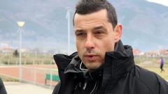 Александър Томаш: Чух много похвали за Етър, но аз не съм доволен