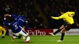 Уотфорд отказа Евертън с гол в последните минути (ВИДЕО)