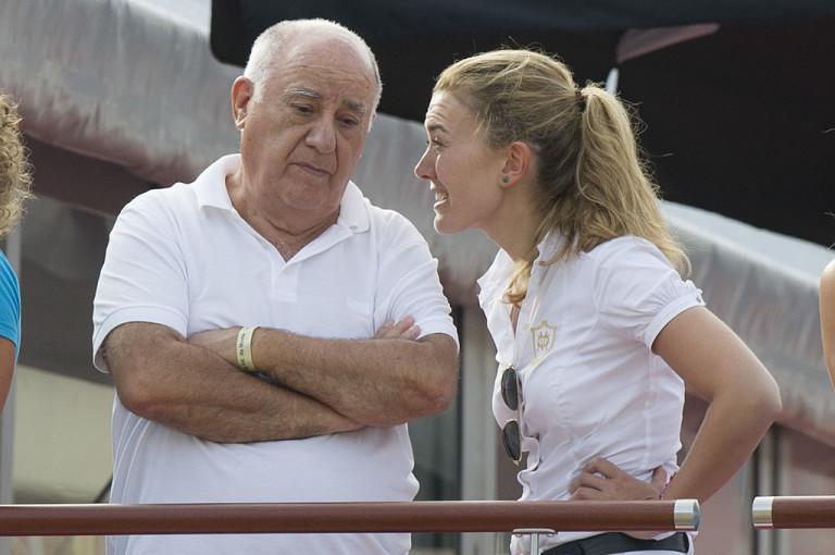 Амансио Ортега и дъщеря му Марта
