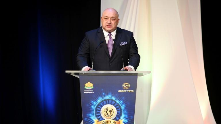 Красен Кралев: Средствата за спорта ще бъдат увеличени двойно след промените в Закона за хазарта