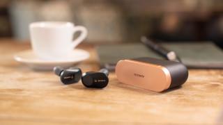 Безжичните слушалки с активно потискане на шума на Sony WF-1000XM3 вече са в България