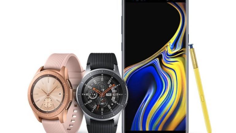 Малко след представянето на дългоочаквания Galaxy Note9, Samsung обяви и