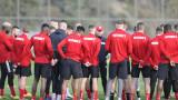 ЦСКА остава на Панчарево по време на паузата в първенството