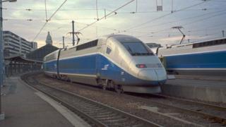 Френският влак TGV разви рекордна скорост от 574 км/ч