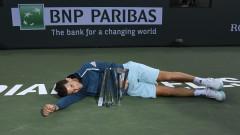 Доминик Тийм обърна Роджър Федерер на финала в Индиън Уелс