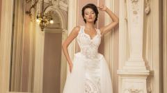 Диляна Попова облича булчинска рокля (СНИМКИ)