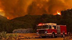 Жертви и ранени при горските пожари в Калифорния