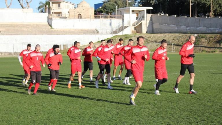 Царско село с първи тренировки в Кипър