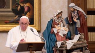 Папа Франциск подкрепи ролята на жените в католическите служби