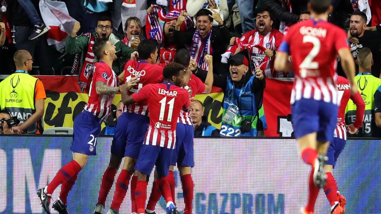 Реал Мадрид 2 : 2 Атлетико Мадрид 83′ Васкес влиза