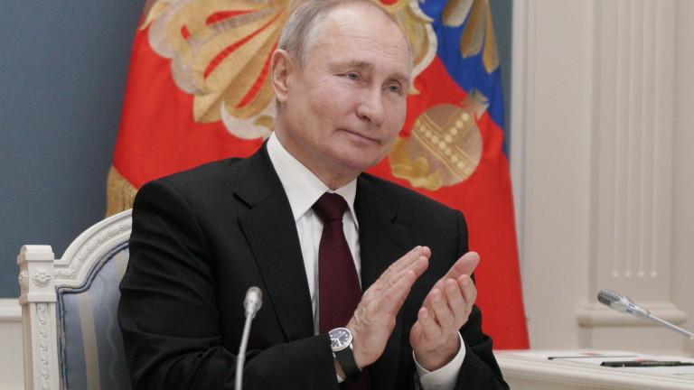 Путин в отговор пожела на Байдън много здраве - без ирония и шеги
