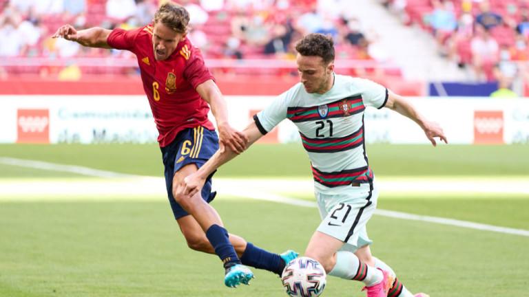 Испания и Португалия не си вкараха гол