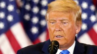 Доналд Тръмп призна за първи път, че Байдън печели, но след изборна измама