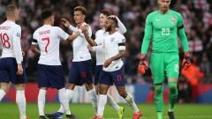 Хеттрик на Стърлинг и унищожително начало за Англия в европейските квалификации!