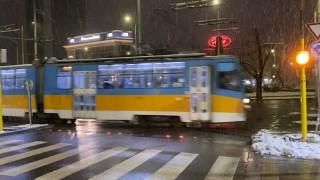 Умна система предупреждава шофьорите за трамваи при Руски паметник