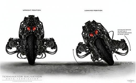 Moto–Terminator в новия Terminator 4 - Salvation