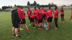 ЦСКА стартира подготовката за мача с Витоша