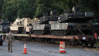 САЩ разполагат войници и танкове в Литва