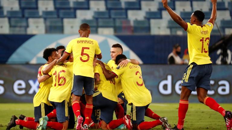 Колумбия излъга Еквадор с 1:0 в първия мач от група