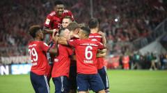 Байерн (Мюнхен) започна защитата на титлата в Бундеслигата с трудна победа