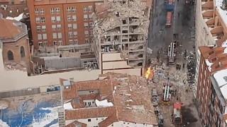 Четирима са вече загиналите при експлозията в Мадрид