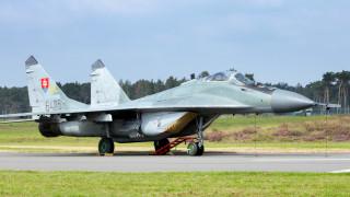 Словашките ВВС спряха полетите с МиГ-29