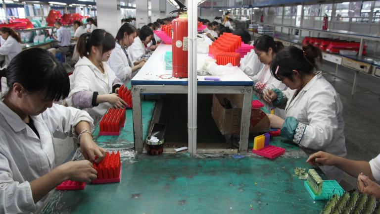 Проблемът на индустриалния сектор на Китай за милиарди