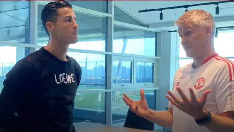 Кристиано Роналдо: Завърнах се в Манчестър Юнайтед, за да печеля