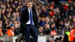 """Марка"": Ернесто Валверде остава треньор на Барселона"