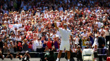 """Роджър Федерер приключи с """"Уимбълдън"""", триумф за Кевин Андерсън срещу Маестрото!"""