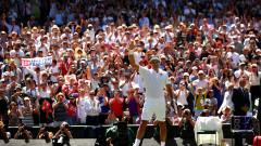 """Федерер приключи с """"Уимбълдън""""!"""