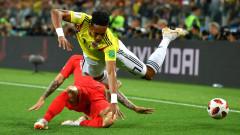 Колумбия - Англия, 4:5 (Развой на срещата по минути)