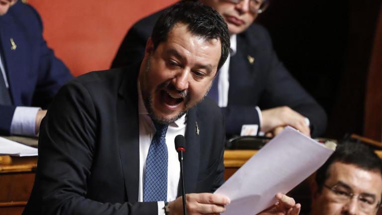 Сенатът на Италия отне имунитета на Матео Салвини и го изпрати на съд