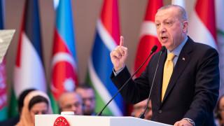 Западният бряг принадлежи на палестинците, предупреди Ердоган израелците