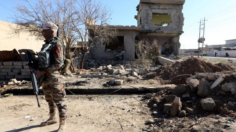 Иракските спецчасти освободиха квартал в източен Мосул
