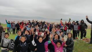 Бургазлии събраха 300 чувала с отпадъци от брега на езерото Вая