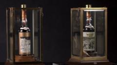 Уиски с етикет, рисуван от художника на Бийтълс, се продава за $1 милион